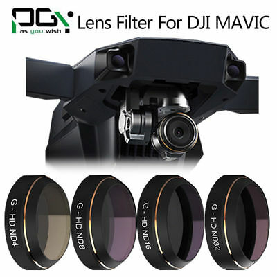 Pro PGY 4In1 ND4 ND8 ND16 ND32 Filter Lens Polarizer For DJI Mavic RC Drone AU!!