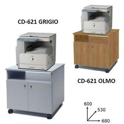 Furniture Port Photocopier Eco On Wheels Cm. 68X53X66H Furnishing Accessories