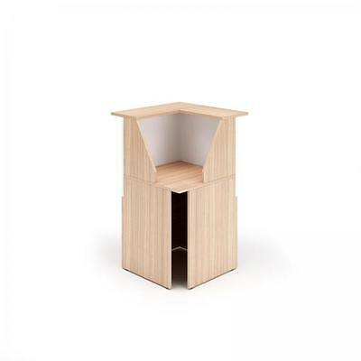 Reception counter Eco Angled 90 ° Self-supporting Cm. 76,1X76,1X117