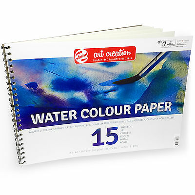 Royal Talens – Art Creation A3 Water Colour Paper – 15 Sheets – 240gsm