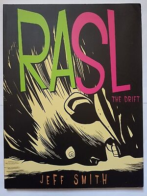 RASL: V.1 - The Drift by Jeff Smith published by Cartoon Books 2008