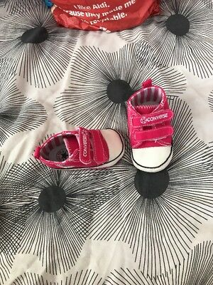 Baby Girls Size 1 Converse