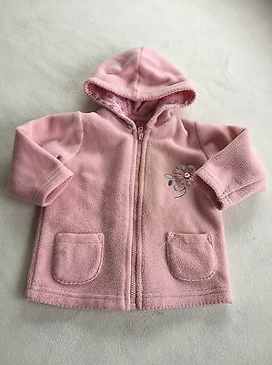 Baby Girls Clothes 3-6 Months - Cute Girl Fleece Jacket