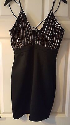 Women's sequin dress size 12 from boohoo