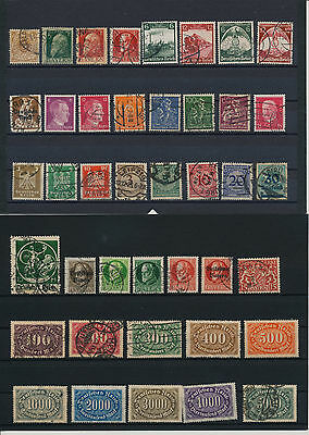 Germany, Deutsches Reich, Nazi, liquidation collection, stamps, Lot,used (DQ 3)