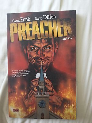Preacher book one by Gareth Ennis and Steve Dillon