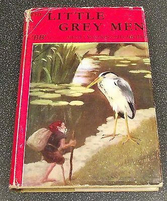 THE LITTLE GREY MEN HARD BACK BOOK BY BB DENYS WATKINS PITCHFORD 1950s