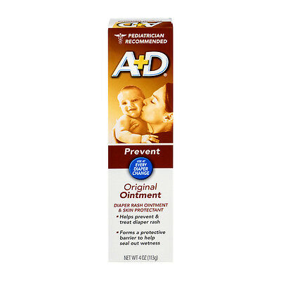 Bayer A+D Original Ointment 4 oz/tube, 2pack