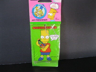 "The Simpsons  ""Vintage Unused Air Freshener'  NIP 1990"