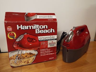 Hamilton Beach 6 Speed  Hand Mixer With Storage Case-62633R
