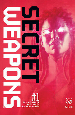 Secret Weapons (2017) #1 VF/NM Raul Allen 2nd Printing Cover Valiant