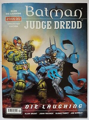 Batman / Judge Dredd: Die Laughing - collected edition graphic novel