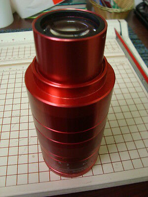 35mm Projection Lens ~ Cinemascope ~ 80mm Integrated ISCO ULTRA STAR