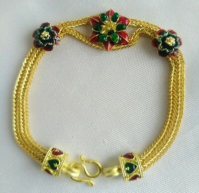 New Fashion Bracelet Thai Brass Jewelry Jewelry Thailand Design delicateness