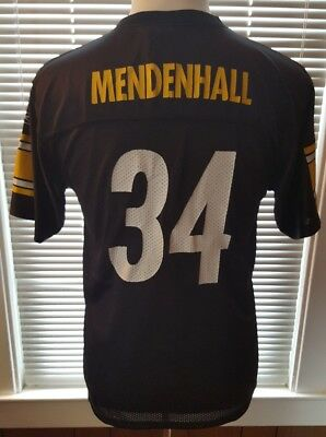 c2899df29 NFL REEBOK Pittsburgh Steelers  34 MENDENHALL Youth XL FOOTBALL JERSEY