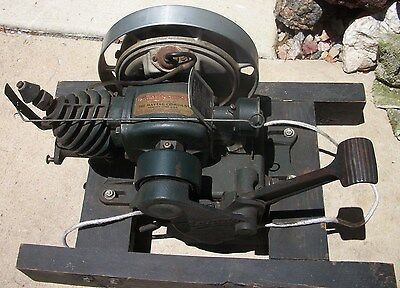 Original 1935 Maytag Gasoline Engine Removed & Replaced With Electric Motor Mint