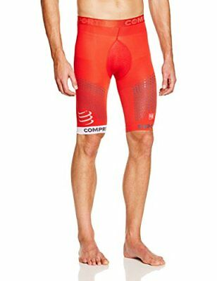 COMPRESSPORT Trail Pantaloncini di Compressione Interni, rosso (Rosso), FR : XL