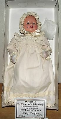 "Horsman 130th Anniversary "" Baby Dimples"" Doll 1996-Original Box-#96-0974-COA"