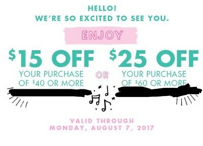 JUSTICE Coupon Code $15 Off $40 or $25 Off $60 Or More In Store/Online