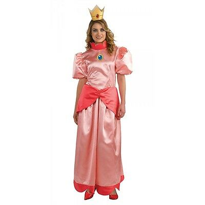 Princess Peach Costume Adult Halloween Fancy Dress