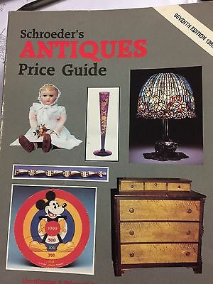 Schroeder's Antiques Price Guide Seventh Edition Book