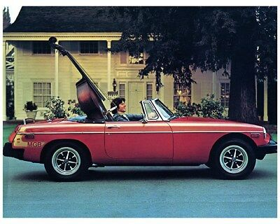 1978 MG MGB Factory Photo ca7914