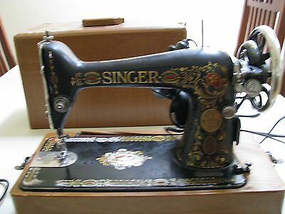 """106 Year Old Antique Singer Sewing Machine """"functional"""""""