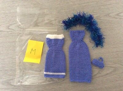 Barbie Sindy Doll Hand Knitted Clothes Set M - Easter Birthday Gift