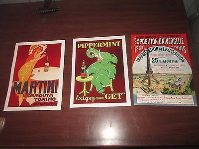 Card Stock Signs lot of 3
