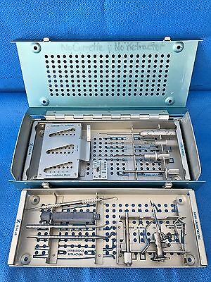 Zimmer 1154-12, Herbert Bone Screw Instrumentation Set, Orthopedic, Surgical