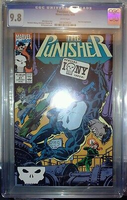 The Punisher #41, (1990): Should a Gentleman Offer a Tiparillo to a Lady?CGC 9.8