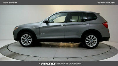 2017 BMW X3 sDrive28i Sports Activity Vehicle sDrive28i Sports Activity Vehicle 4 dr SUV Automatic Gasoline 2.0L 4 Cyl Space G
