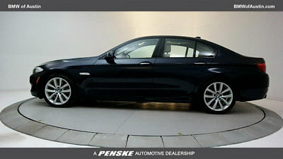 2011 BMW 5-Series 535i 535i 5 Series 4 dr Sedan Gasoline 3.0L STRAIGHT 6 Cyl Imperial Blue Metallic