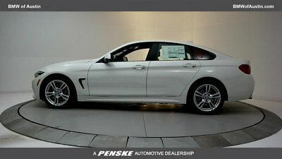 2018 BMW 4-Series 430i Gran Coupe 430i Gran Coupe 4 Series New 4 dr Sedan Automatic Gasoline 2.0L 4 Cyl Alpine Whi