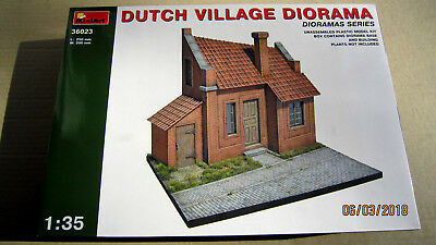 Dutch  Village Diorama model kit  1/35 MiniArt  # 36023