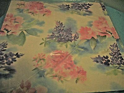 Gift Wrap Wrapping Paper Artfaire Lot Of 2 Floral  Bridal Shower Wedding New