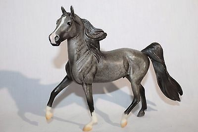 BREYER Walking Stallion Horse, Gray / White