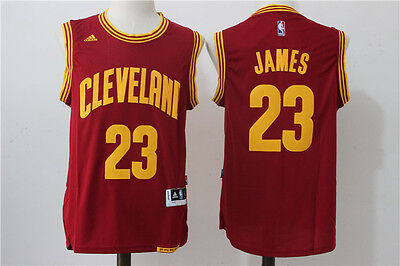 Nba Lebron James Cleveland Cavaliers #23 Swingman Jersey Red