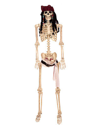 Pirates of the Caribbean - Full size Jack Sparrow Poseable Skeleton