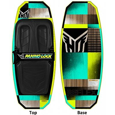 Ho Sports Reflex Kneeboard -- Color: Teal/yellow --- Brand New!!!