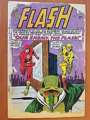 DC Flash Vol. I # 147 (1st Print) 2nd App. Professor Zoom