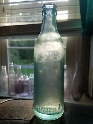 Straight side coca cola bottle from *Newbern NC*