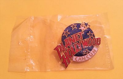 Planet Hollywood Cancun Lapel Pin in Sealed Bag