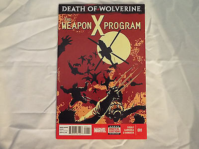 The Weapon X Program #1 Death of Wolverine high Grade NM