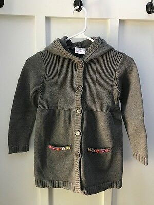 Hanna Andersson Cardigan Sweater Size 120