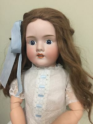 """Antique Doll Klay & Hahn 250 Walkure Bisque On A Composition Body 29"""""""