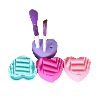 Silicone Egg Cleaning Glove Makeup Washing Brush Drying Racks Scrubber Tool Clea