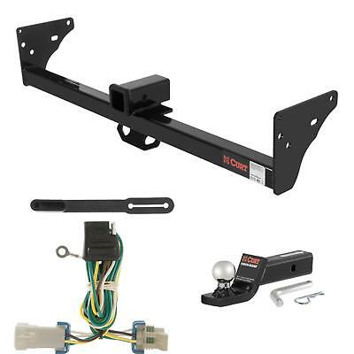 """CURT Trailer Hitch, Wiring & 2"""" Ball Mount w/ 2"""" Drop for Chevy S10, GMC Sonoma"""
