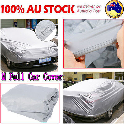 M Universal Car Cover UV Resistance Waterproof Anti Scratch Dust Full Protection