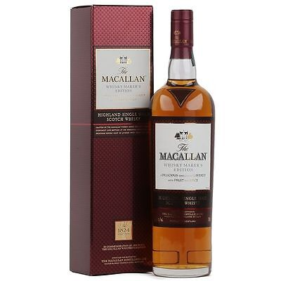 The Macallan Whisky Maker's Edition 1824 Collection Single Malt Scotch Whisky